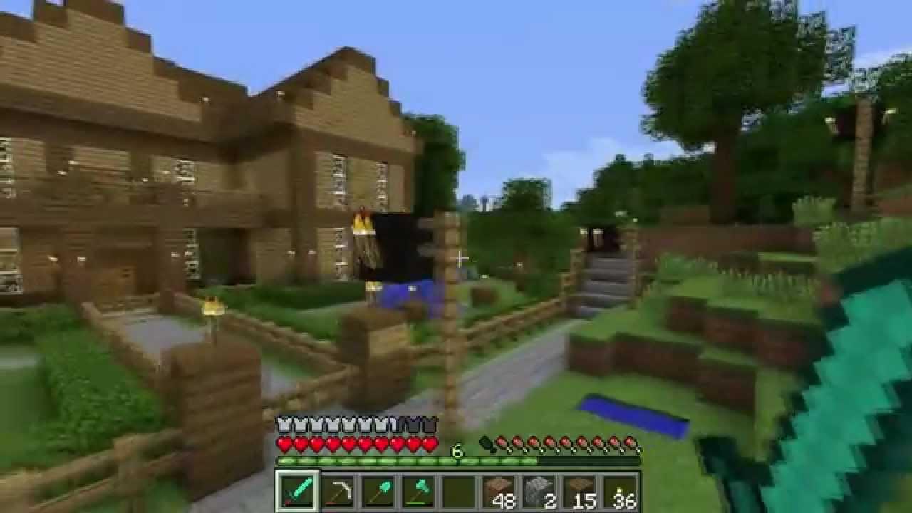 My Minecraft House Tour