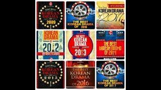 BEST KOREAN DRAMA 2009-2017