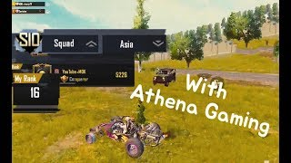 Asia High Ranker MOK l with Athena Gaming l PUBG M l PUBG MOBILE l 모바일배틀그라운드 l 모바일배그 l 모배