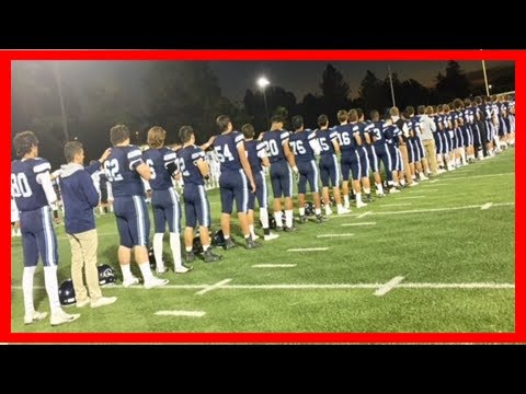 Breaking News | Anthem protest causes backlash at prestigious south bay high school