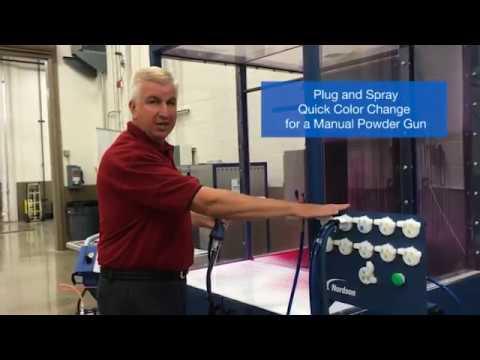 Powder Coating Plug Amp Spray Fast Color Change System