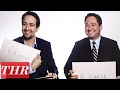 Lin-Manuel Miranda Plays 'The Oscar Quiz' Against The Hollywood Reporter's Scott Feinberg | THR