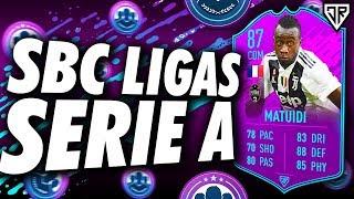 ⚠️Lista de INVERSIÓN PARA EL SBC DE LIGAS Serie A