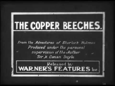 THE COPPER BEECHES (Silent 1912) Georges Treville as Sherlock Holmes