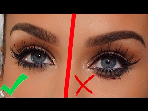 0a4b805897f BEAUTY HACK! How To: Prevent Mascara from SMUDGING! Carli Bybel ...