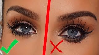BEAUTY HACK! How To: Prevent Mascara from SMUDGING! Carli Bybel