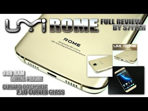 UMI Rome (In-Depth Review) 3GB RAM, CNC Metal Frame, Sony Camera - Video by s7yler