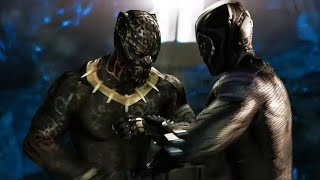 Black Panther Tamil | Black Panther kill Killmonger | Black Panther Tamil Scene (2018)