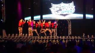 Funky Generation @ the finals World Championships Streetdance 2014