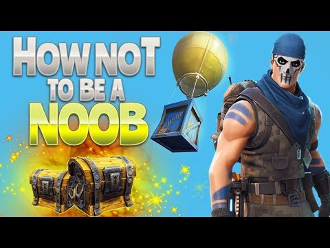 HOW NOT to be a NOOB (Fortnite Battle Royale) | rhinoCRUNCH