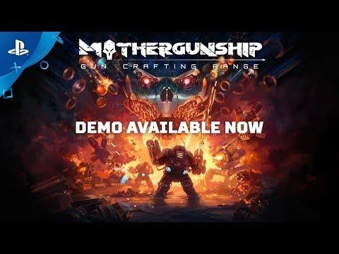 Mothergunship - Demo Trailer | PS4