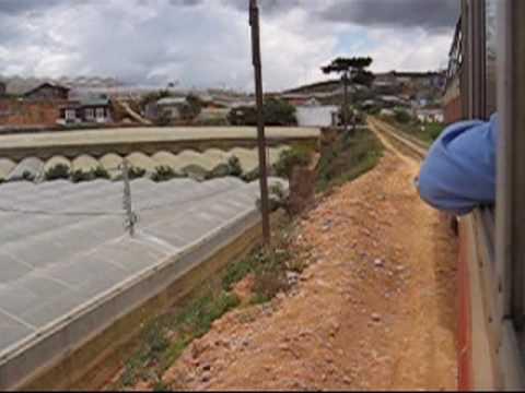 Train Ride Dalat To Trai Mat Vietnam Youtube