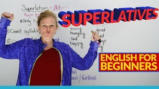 Learn English Grammar: Superlative Adjectives