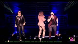 Wisin y Yandel Ft Daddy Yankee - Hipnotizame Live Coliseo