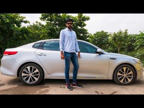 Kia Optima Review - Comfy & Loaded Sedan  | Faisal Khan