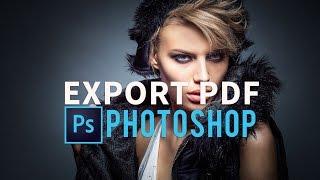 2017 Photoshop CC PDF Sunum Oluşturma