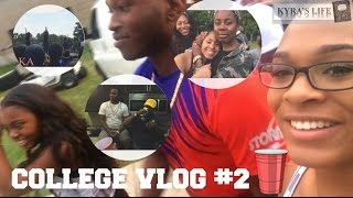 College Vlog #2 | LETS GET FUCKED UP!!! | Kyra Michelle