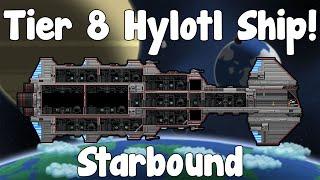 Tier 8 Hylotl Ship - Starbound Guide , Nightly Build - GullofDoom