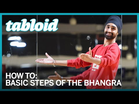 Learn how to do bhangra