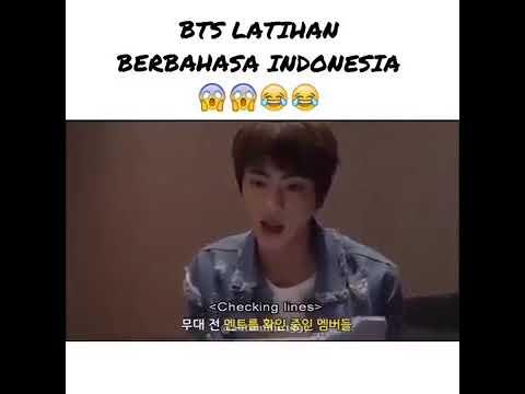 Bts latihan bahasa indonesia~