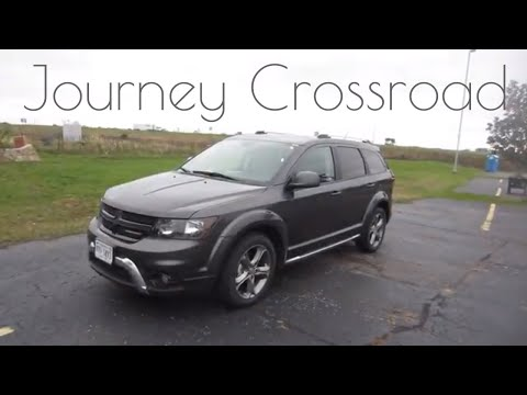 2017 Dodge Journey Crossroad | Full Rental Car Review and Test Drive