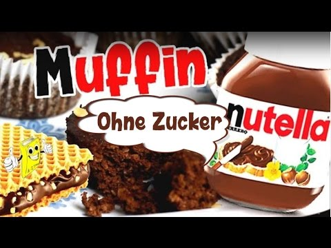 Nutella Hanuta Creme Muffins Ohne Zucker Rezept Schoko Muffin