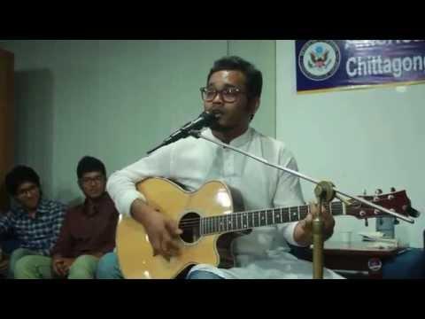Digital Fua by Riad Hasan at Poetry Adda 3.0 | American Corner, Chittagong