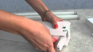 видео Облучатель бактерицидный (рецикулятор воздуха) СН-111-130