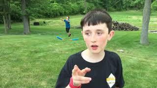 Nerf Giant Dart challenge