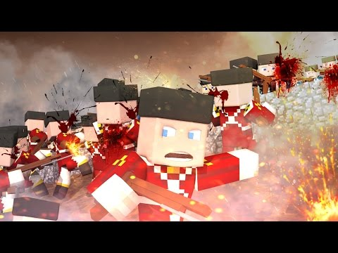 Minecraft | AMERICAN REVOLUTION: Battle of Bunker Hill! (Good vs Evil Challenge)