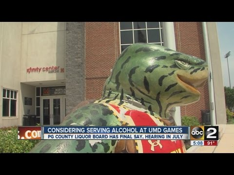 University of Maryland considers selling alcohol at athletic events
