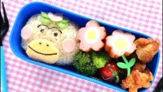 My channel is introducing various recipes.This video is a recipe of 【Hanakappa Bento Lunch Box (Kyaraben)】.このチャンネルでは料理の作り方を紹介しています。