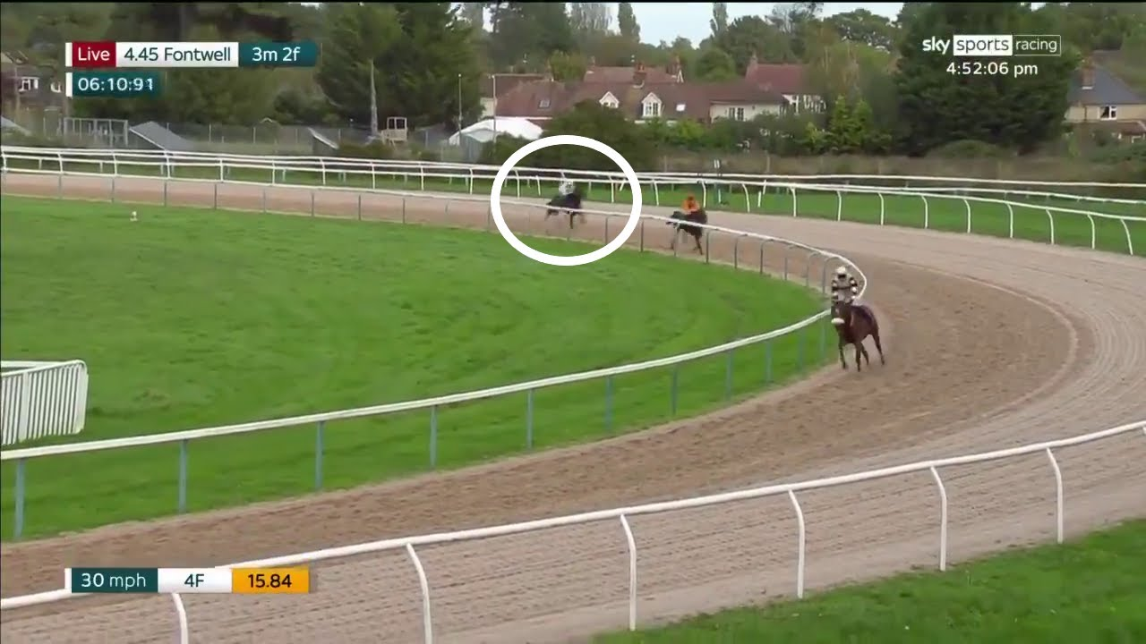 Unlikeliest of winners! Horse comes from MILES back at Fontwell