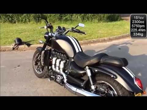 Triumph Rocket  Roadster sound