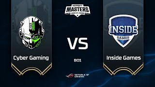Cyber Gaming vs Inside Games @ Hitpoint Masters #13