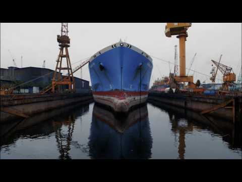 Behind the Scenes Look Into a LNG Vessel Dry-docking | Teekay