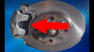 замена передних тормозных колодок на ваз 2110 Что делать чтобы суппорты не клинило