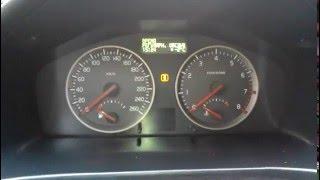 Стирание ошибки ТО на Volvo s40, s60, s80