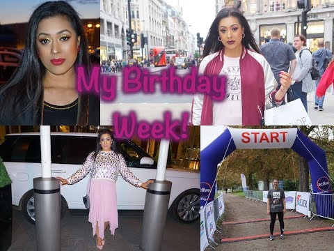 VLOG: My Birthday, Shopping in London & Half Marathon!