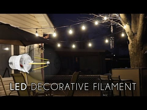LED Decorative Filament Bulb