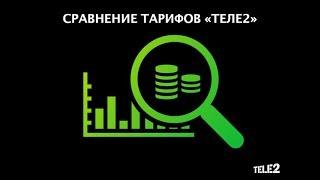 сравниваем тарифы теле2 - Очень черный vs Твой онлайн(, 2017-06-09T06:23:24.000Z)