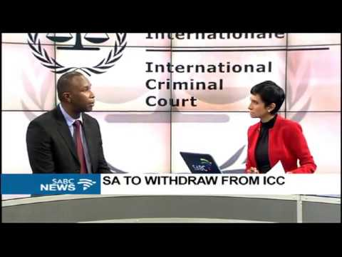 DISCUSSION: SA's withdrawal from the ICC with Allan Ngari