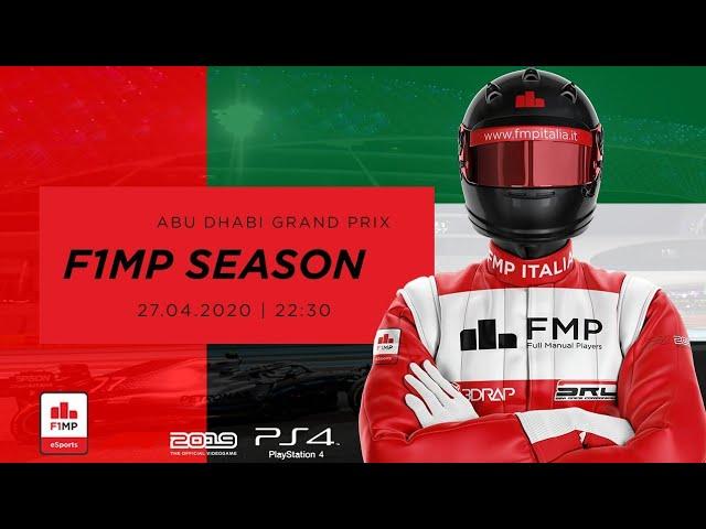 F1MP   CLOSING SEASON #11   ABU DHABI GRAND PRIX FMP ITALIA