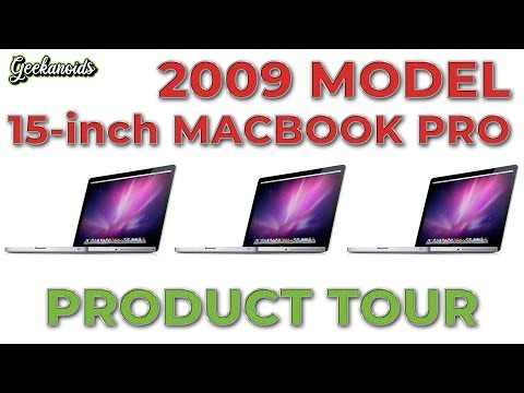 Apple 15-inch MacBook Pro (mid-2009) - Product Tour
