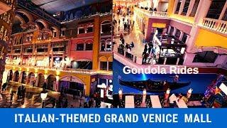 Grand Venice mall    Italian theme based mall in Greater Noida   Venice mall Greater Noida