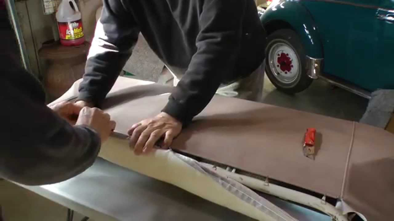 Classic VW BuGs How to Restore and Reupholster Rear Seats