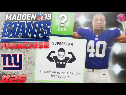Trading Up For a Superstar! Madden 19 Giants Franchise Offseason, Free Agency, NFL Draft!