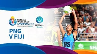 Png v fiji i day 4 i oceania netball world cup qualifiers