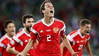 Праздник футбола в Калининграде. Россия с трудом одолела Казахстан