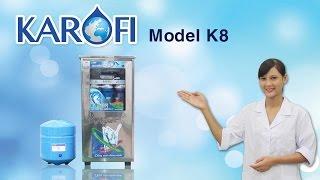 [ENTERBUY] Máy lọc nước RO Karofi K8 - Màng RO nhập khẩu Mỹ
